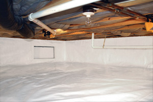 Crawl Space Repair After in Gainesville