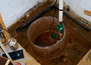 Extreme clogging and rust in a Panama City Beach sump pump system