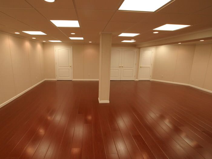 Wood Laminate Basement Floor Finishing Destin Gainesville