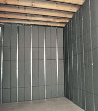 Thermal insulation panels for basement finishing in Jacksonville, Florida