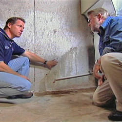 creating a basement waterproofing system with contractors in Deland